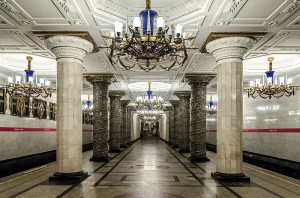 St. Peterburg metro tour